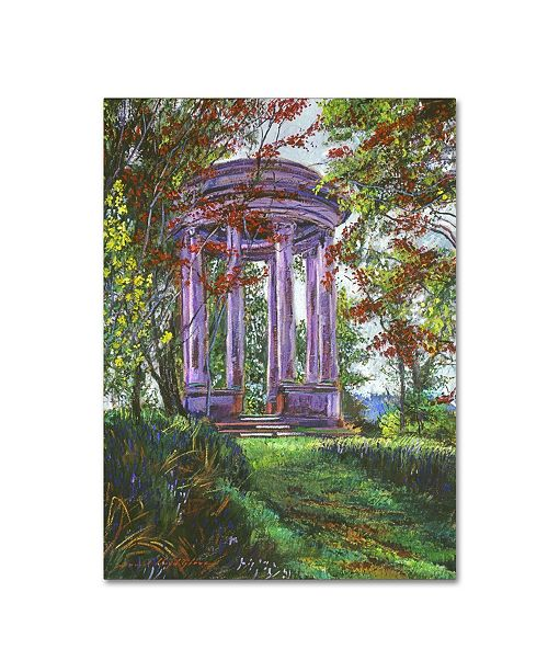 "Trademark Global David Lloyd Glover 'Japanese Maple Trees' Canvas Art - 18"" x 24"""