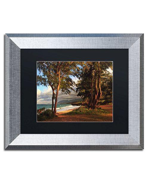 """Trademark Global Jason Shaffer 'Hawaii 5' Matted Framed Art - 14"""" x 11"""""""