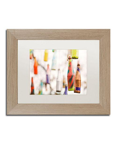 """Trademark Global Jason Shaffer 'High Life' Matted Framed Art - 14"""" x 11"""""""