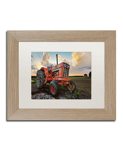 """Trademark Global Jason Shaffer 'International' Matted Framed Art - 14"""" x 11"""""""