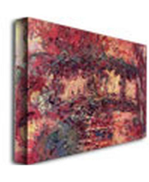 "Trademark Global Claude Monet 'Japanese Bridge at Giverny, 1923' Canvas Art - 24"" x 18"""