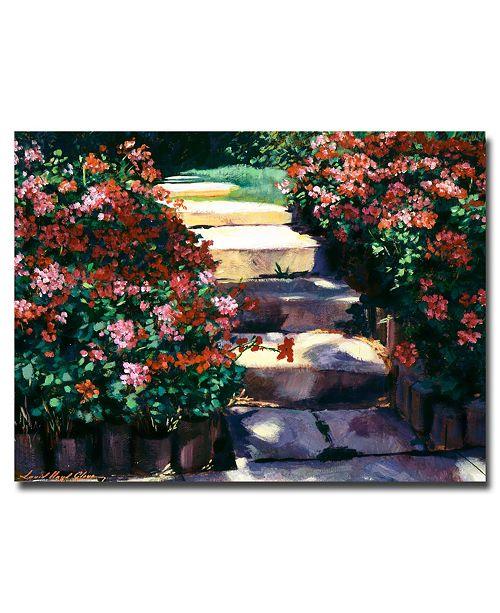 "Trademark Global David Lloyd Glover 'Welcome to My Garden' Canvas Art - 24"" x 18"""