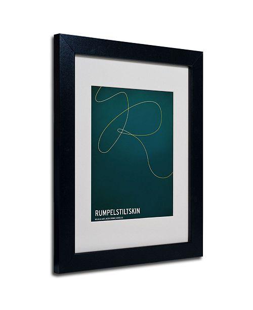 """Trademark Global Christian Jackson 'Rumpelstiltskin' Matted Framed Art - 14"""" x 11"""""""