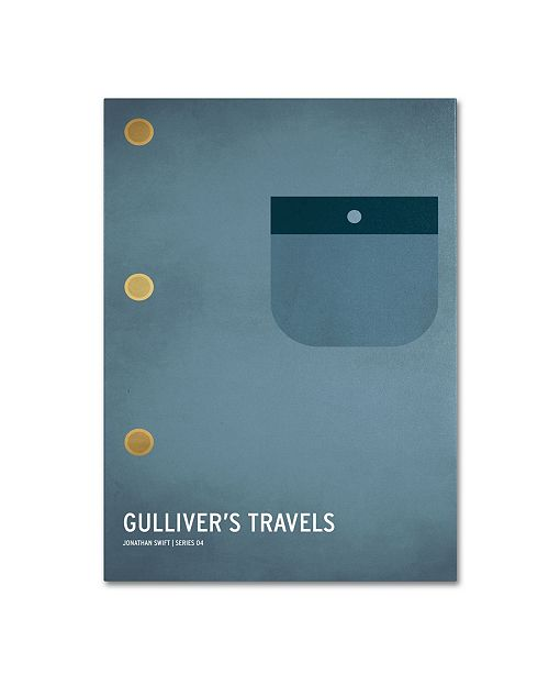 "Trademark Global Christian Jackson 'Gulliver's Travels' Canvas Art - 32"" x 22"""
