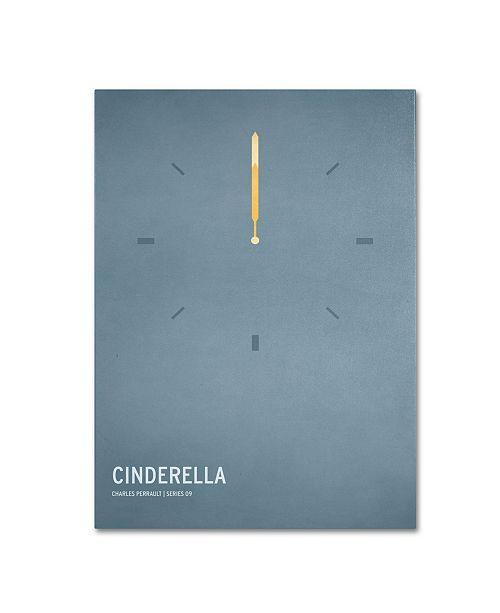 "Trademark Global Christian Jackson 'Cinderella' Canvas Art - 47"" x 30"""