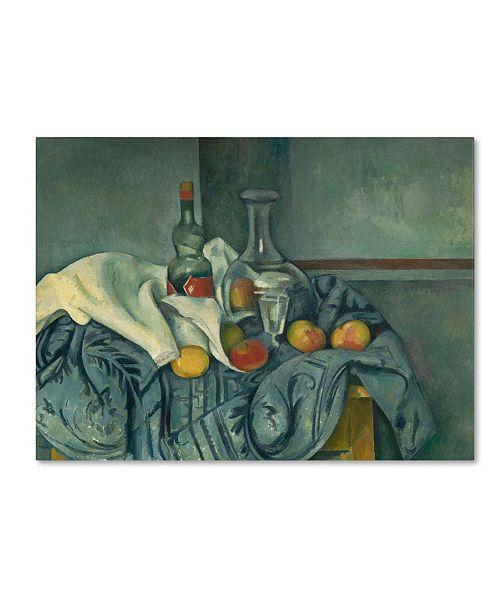 "Trademark Global Paul Cezanne 'The Peppermint Bottle 1893-95' Canvas Art - 24"" x 18"""