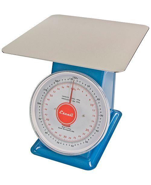 Escali Corp Mercado Dial Scale with Plate, 132lb