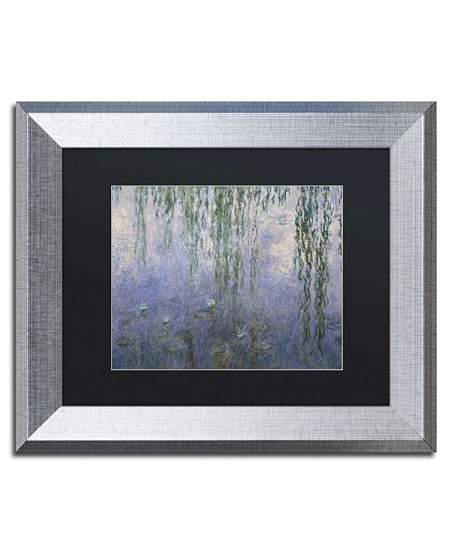 "Trademark Global Claude Monet 'Water Lilies III 1840-1926' Matted Framed Art - 11"" x 14"""