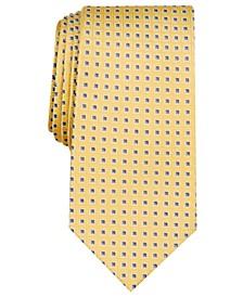 Men's Pavel Slim Neat Silk Tie