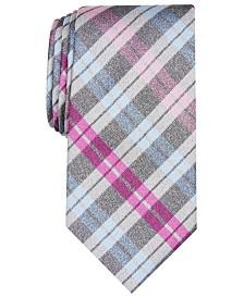 Perry Ellis Men's Edwin Check Tie