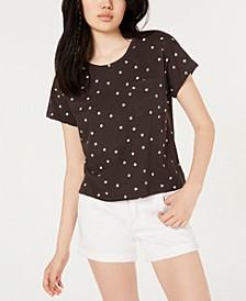 By Ikeddi Juniors' Boxy Pocket T-Shirt