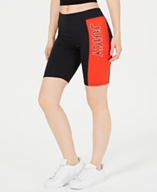 Juicy Couture Graphic Bike Shorts