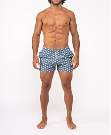 Bermies Original Grey Elephant Swim-Trunk