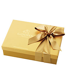 Godiva Chocolatier, 70-Pc. Gold Bow Ballotin Box of Chocolates