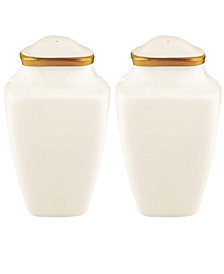 Lenox Dinnerware, Eternal Square Salt and Pepper Shakers