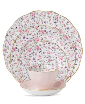 Rose Confetti 5 Piece Place Setting