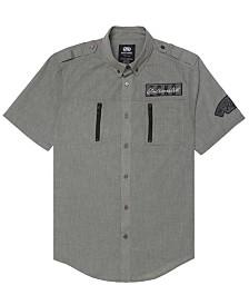 Ecko Unltd Men's Space Force SS Woven Shirt