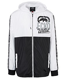 Men's 2 Tone Split Windbreaker