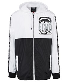 Ecko Unltd Men's 2 Tone Split Windbreaker