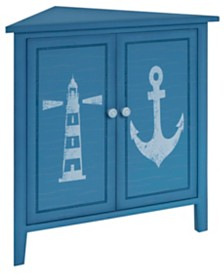 Oceana Corner Cabinet, Quick Ship