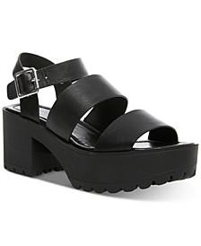 Carter Platform Lug Sandals