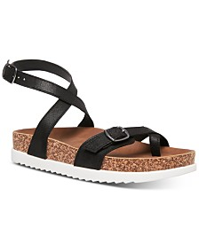 Madden Girl Garnett Strappy Footbed Sandals