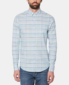 Original Penguin Men's Roadmap Plaid Shirt