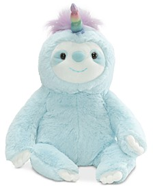 Baby Boys or Girls Dazzle Slothicorn Plush Toy
