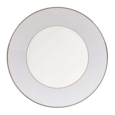 Pin Stripe Salad Plate
