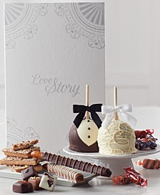 Wedding Story Caramel Apples Gift Set