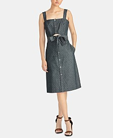 RACHEL Rachel Roy Athena Belted Shirtdress