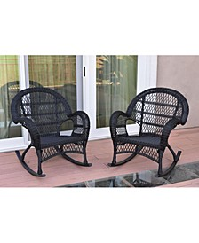 Santa Maria Rocker Wicker Chair