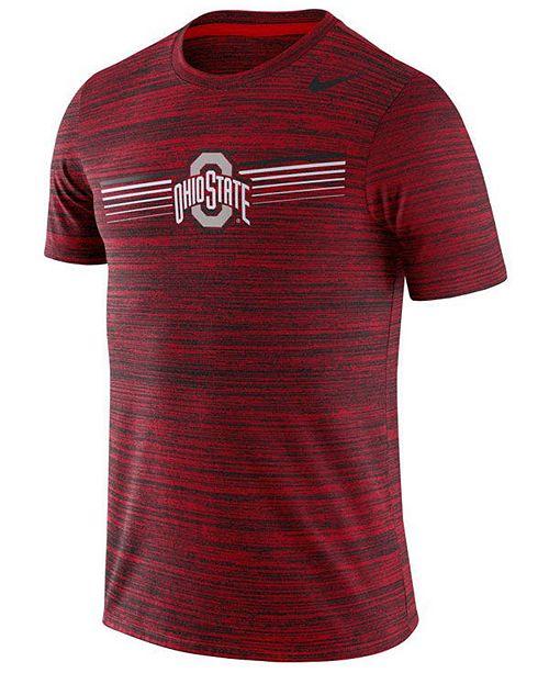 Nike Men's Ohio State Buckeyes Legend Velocity T-Shirt