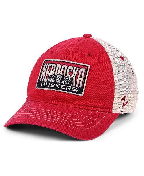 Zephyr Nebraska Cornhuskers Vista Mesh Snapback Cap