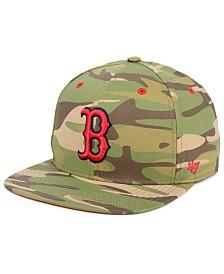 '47 Brand Boston Red Sox Blockade Strapback Cap