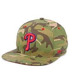 Philadelphia Phillies Blockade Strapback Cap