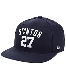 '47 Brand Giancarlo Stanton New York Yankees Player Snapback Cap