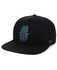 Seattle Mariners Iridescent Snapback Cap
