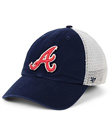 '47 Brand Atlanta Braves Stamper Mesh CLOSER Cap