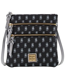 Seattle Mariners North South Triple Zip Purse