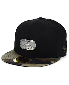 New Era Houston Astros Dog Tag 59FIFTY-FITTED Cap