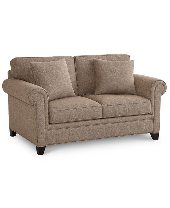 "Furniture Banhart 66"" Fabric Loveseat, Created for Macy's"