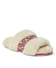 Women's Plush Slide Slipper, Online Only