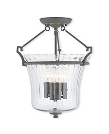 CLOSEOUT!   Cortland 4-Light Ceiling Mount