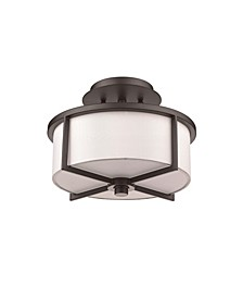 Wesley 2-Light Small Ceiling Mount