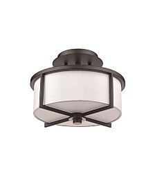 Livex Wesley 2-Light Small Ceiling Mount