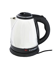 BM-101 Stainless Steel Electric Kettle 1.5 Liter 6-Cup