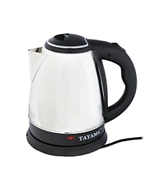 Tayama BM-101 Stainless Steel Electric Kettle 1.5 Liter 6-Cup