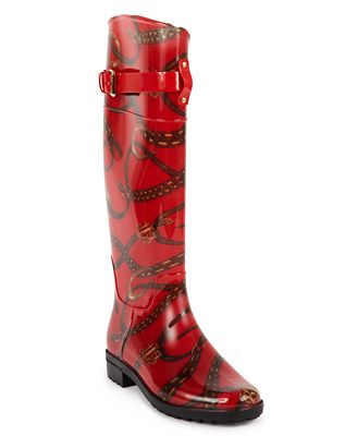 Cool Lauren By Ralph Lauren Women39s Rossalyn Ii Rain Boots In Black  Lyst