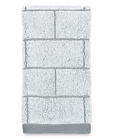 DKNY Subway Tile Fingertip Towel